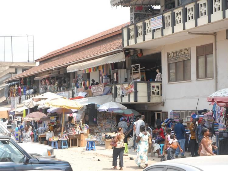 Grab a bargain at Kaneshie Market