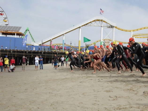 Santa Monica Pier Paddleboard Race & Ocean Fest