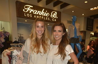 Frankie B.'s store-in-store at Kitson