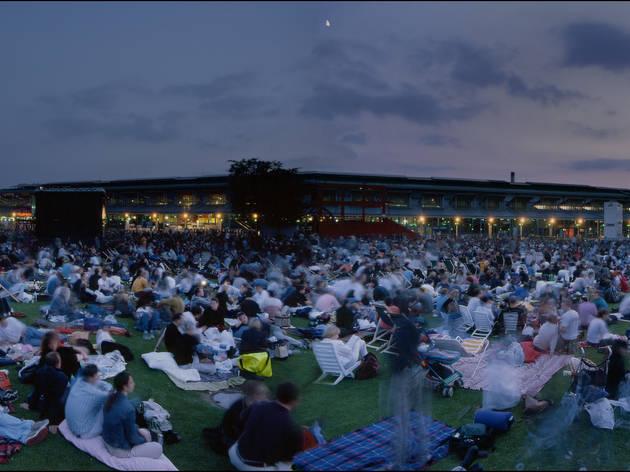 Cinéma en plein air 2013 : Tous en scène