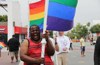 LA Pride (Photograph: Riley Carithers)