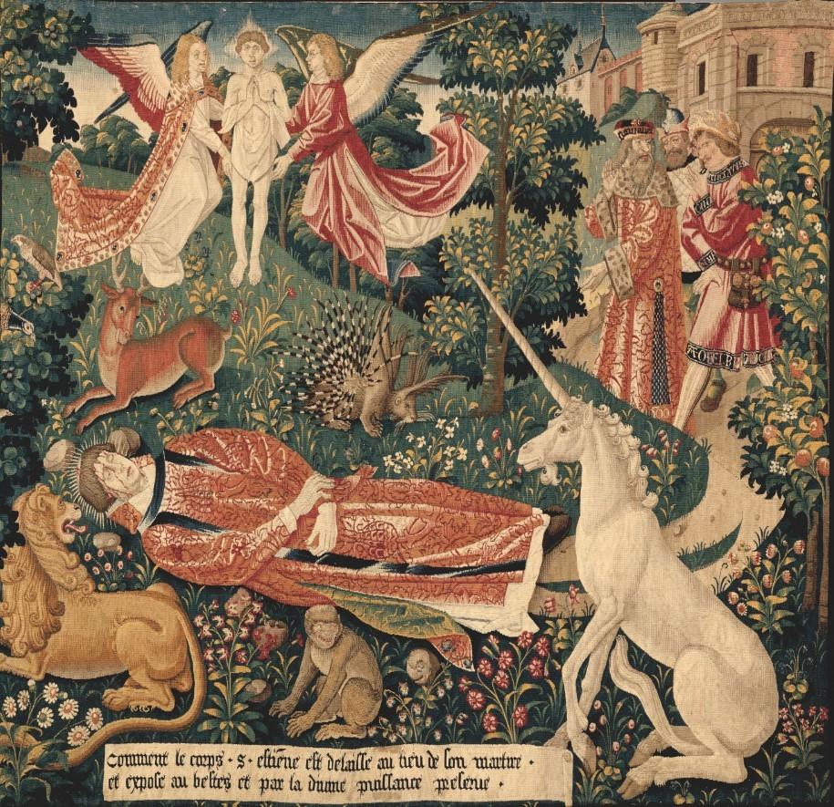 'Tenture de Saint-Etienne', musée du Moyen-Age / Cluny