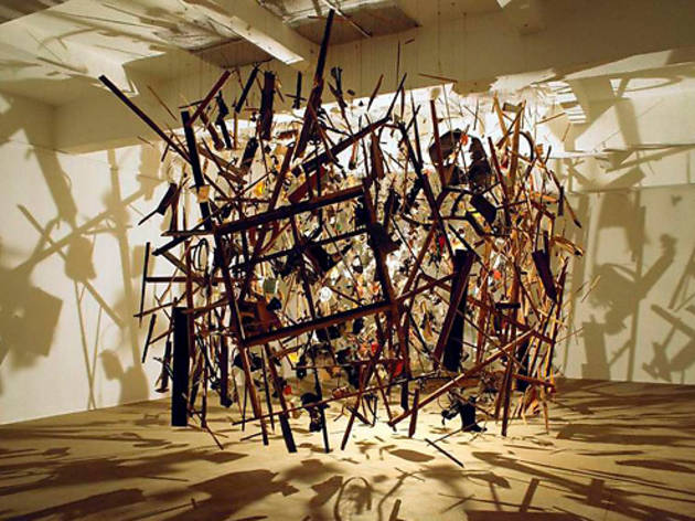 Cornelia Parker deconstructed – Art and galleries – Time ...