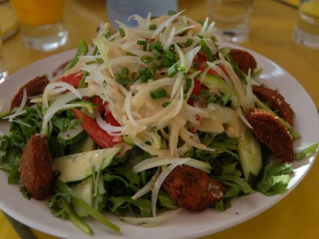 Sunshine Salad Bar, restaurant, Accra, Ghana