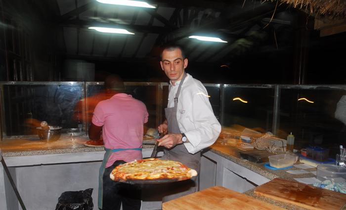 Nicolino pizza restaurant, Accra, Ghana