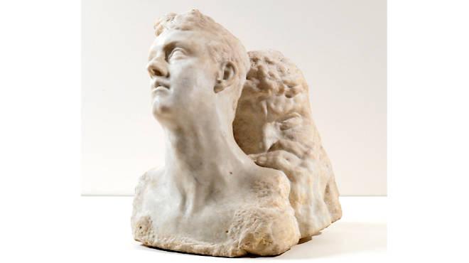 Antoine Bourdelle, 'Le Jour et la Nuit' (marbre), c.1900