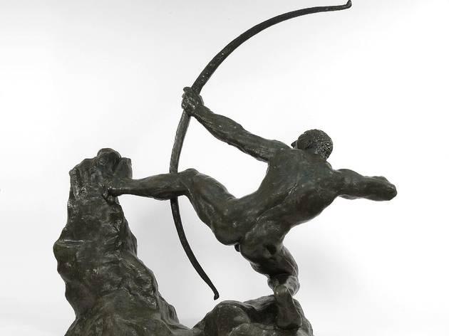 ( Antoine Bourdelle, 'Héraklès archer, première étude' (bronze), 1906-1909 / © Jean-Olivier Rousseau )