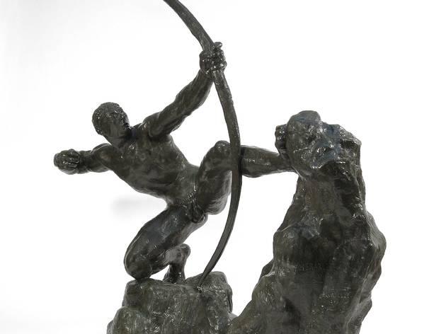 ( Antoine Bourdelle, 'Héraklès / © Jean-Olivier Rousseau archer, première étude' (bronze), 1906-1909)