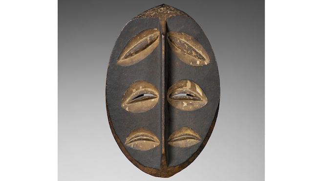 'Masque Lapicque' au musée du Quai Branly