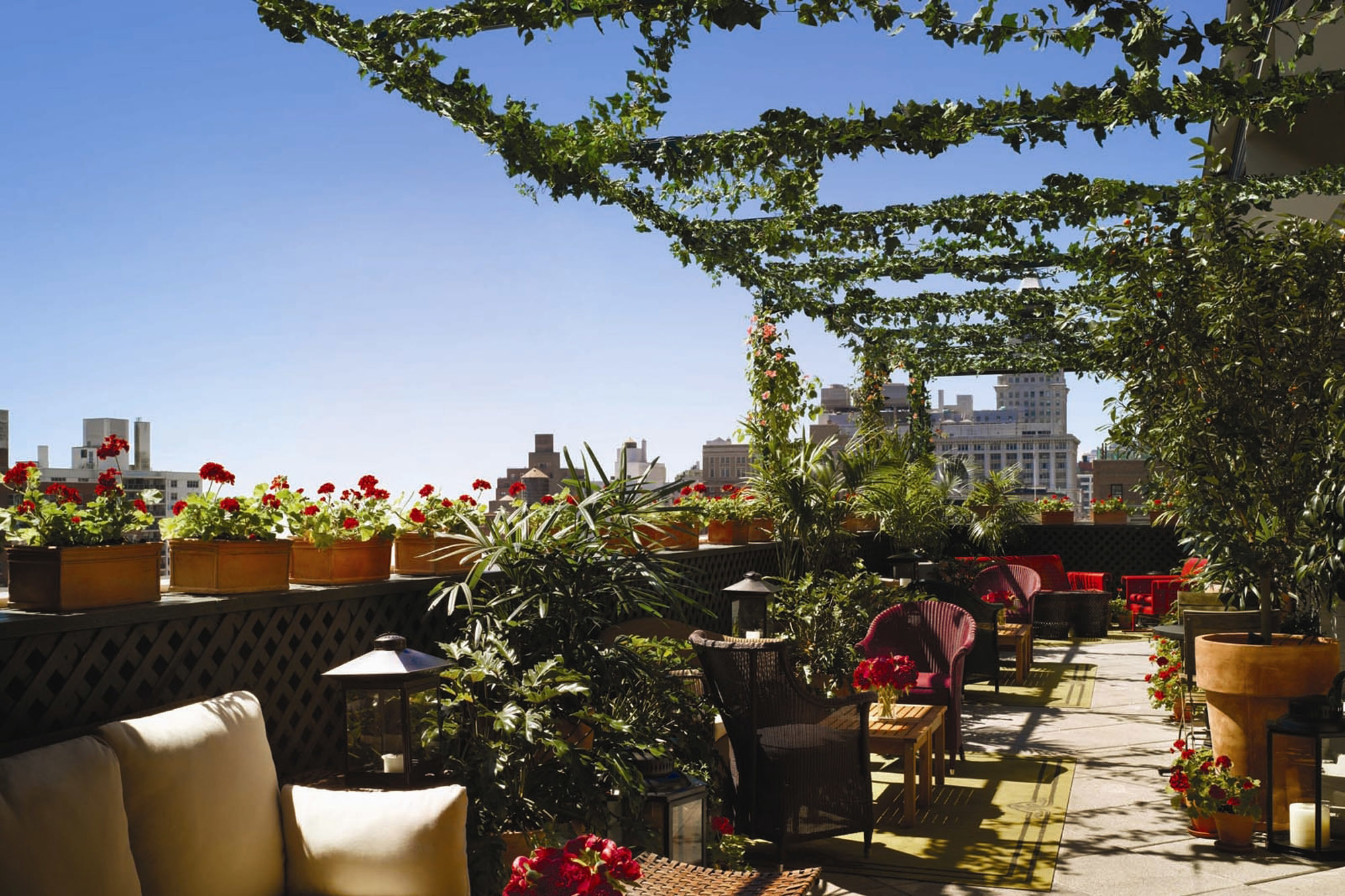 Terrace at Gramercy Park Hotel