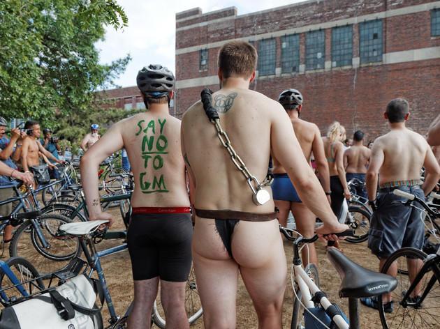 World Naked Bike Ride 2013