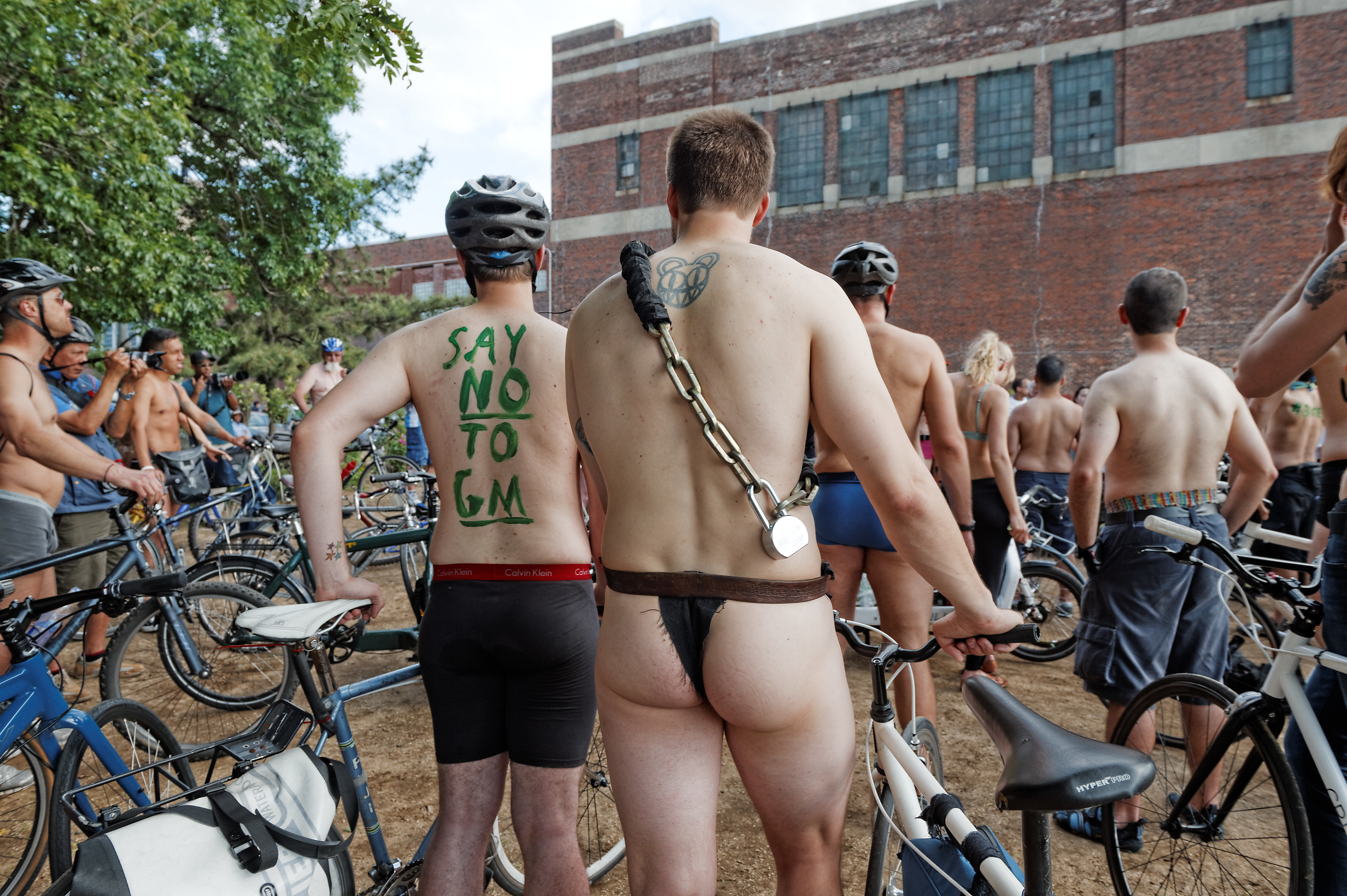 The World Naked Bike Ride to bare all once again on Saturday