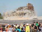 Building Implosion on Governors Island