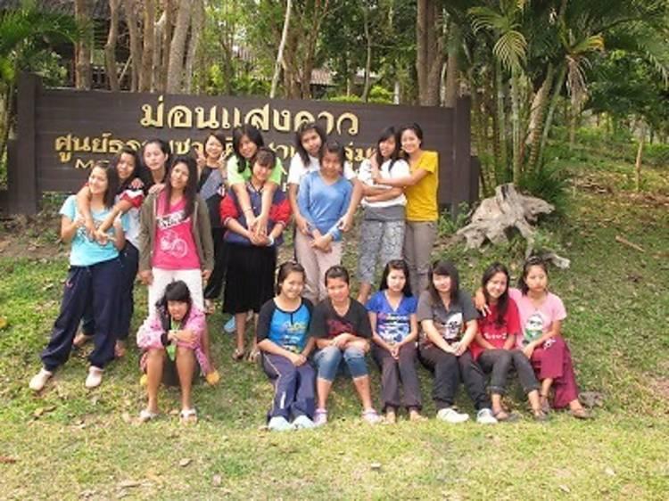 En un racó de Tailàndia