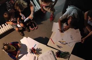 BCN Design Week Kids con Ido: Crea un mueble con material reciclado