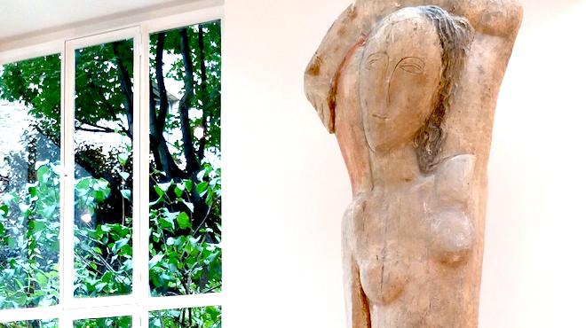 Zadkine, 'Rebecca', musée Zadkine, Paris