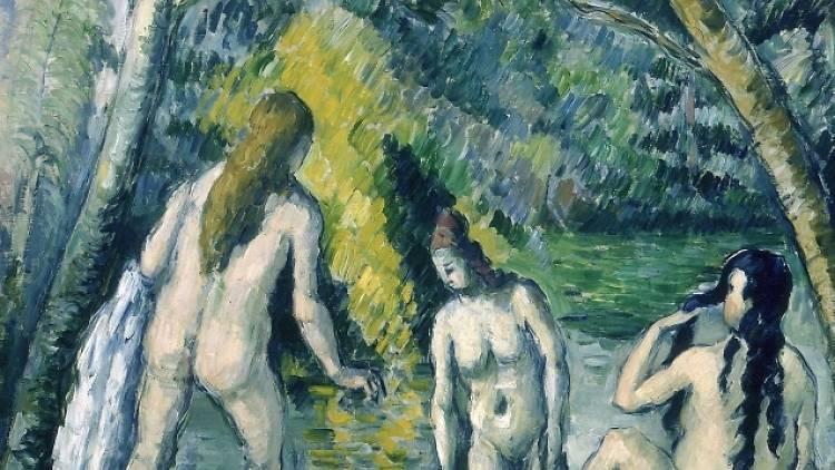 Paul Cézanne, 'Trois baigneuses', 1879-1882 / © Petit Palais / Roger-Viollet