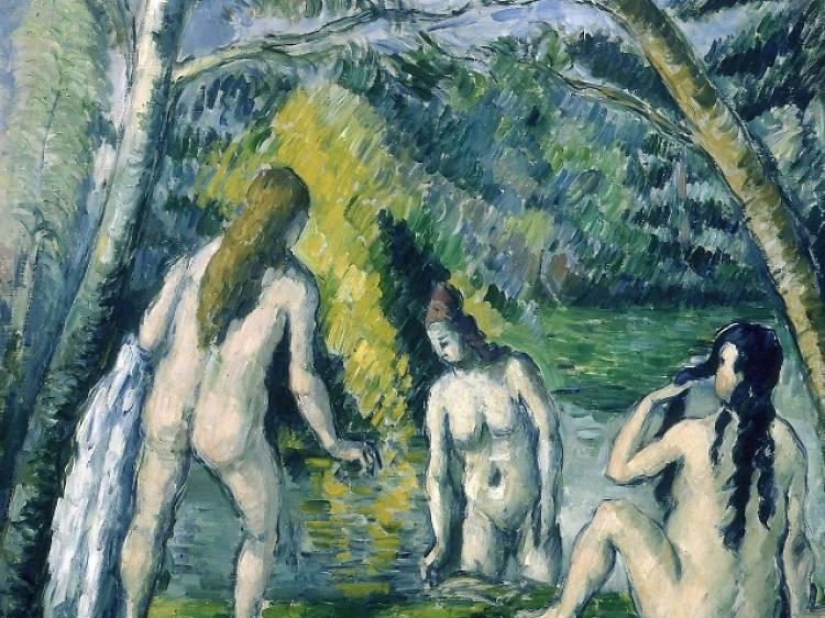 'Trois Baigneuses' – Paul Cézanne (1879-1882)
