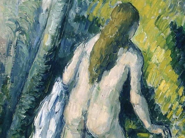 (Paul Cézanne, 'Trois baigneuses' (détail), 1879-1882 / © Petit Palais / Roger-Viollet)
