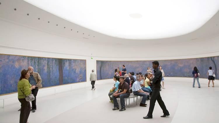 Musee de l'Orangerie, 'Les Nymphéas' de Monet