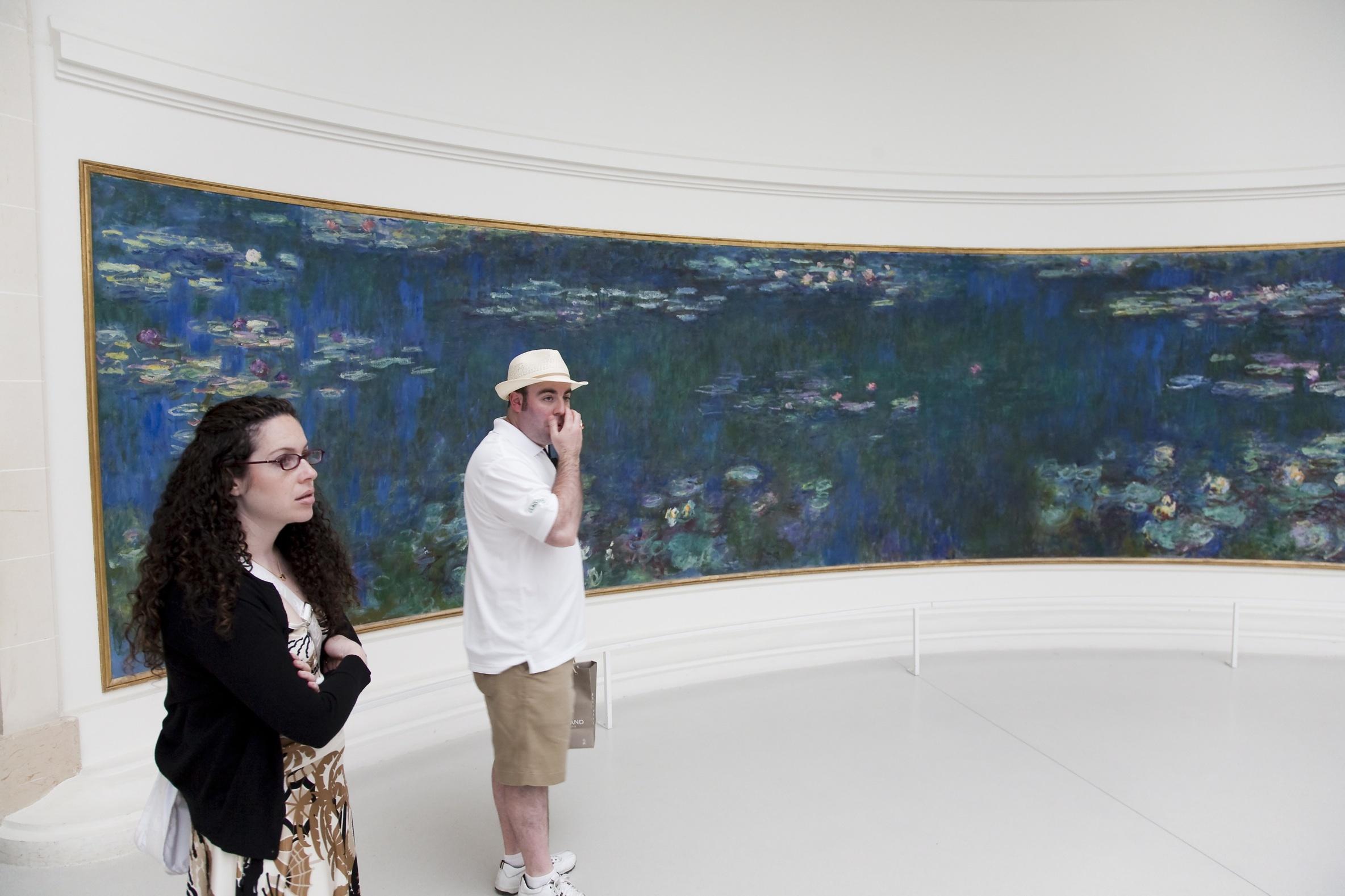 Un musée, une oeuvre •Musée de l'Orangerie, 'Les Nymphéas'
