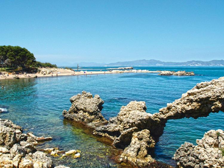 Playa del Portitxol (entre la Escala y Sant Martí d'Empúries)