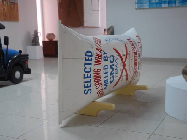 Flour bag, at Artists Alliance