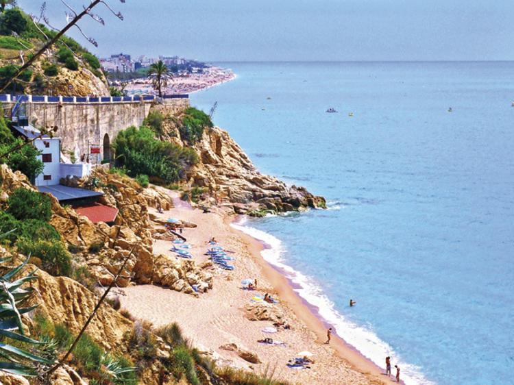 Playa del Morer (Sant Pol de Mar)
