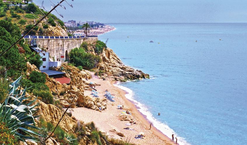 Platja del Morer, Sant Pol de Mar