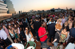 Queen of Hoxton roof top party