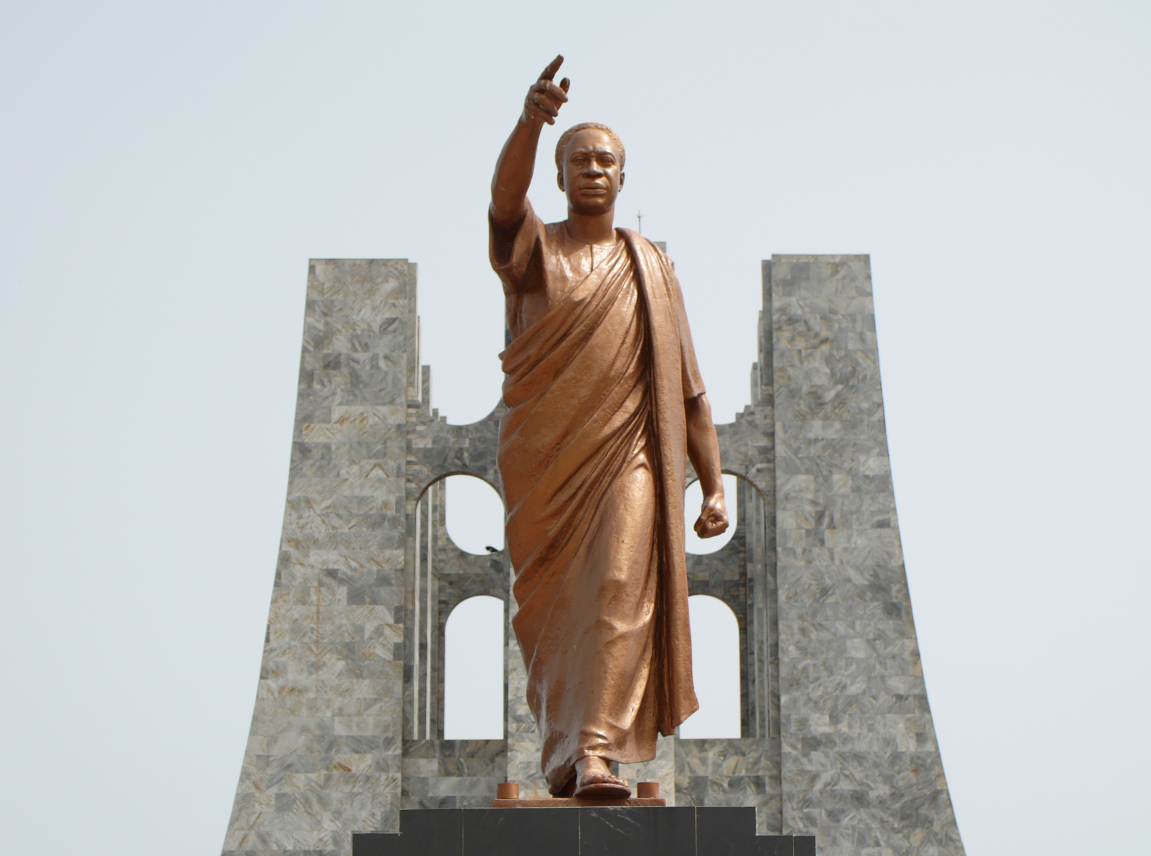 Hero worship at Kwame Nkrumah Memorial Park