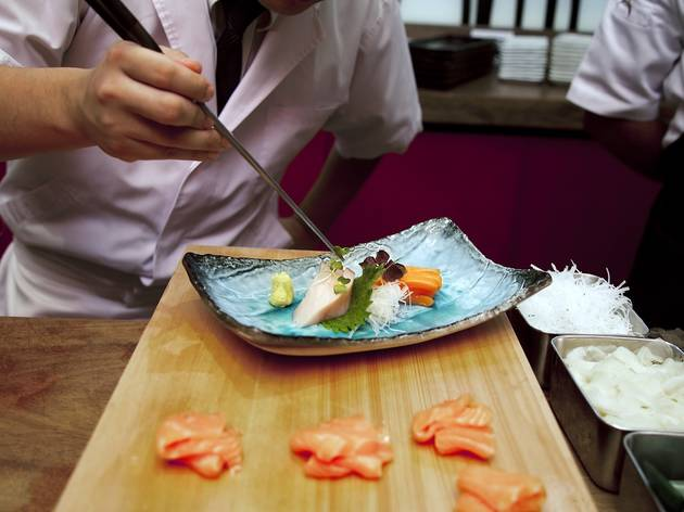 World-class Japanese food at Santoku