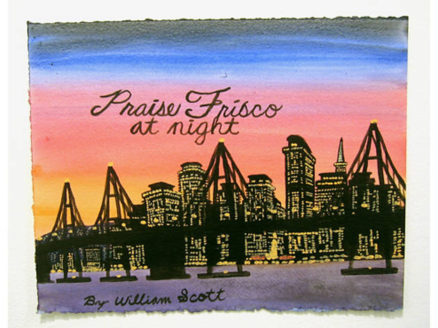 William Scott (Untitled (Praise Frisco at Night) (2006))