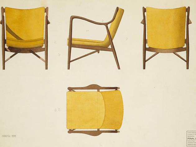 Asseyez-vous! Mobiliers et dessins de Finn Juhl