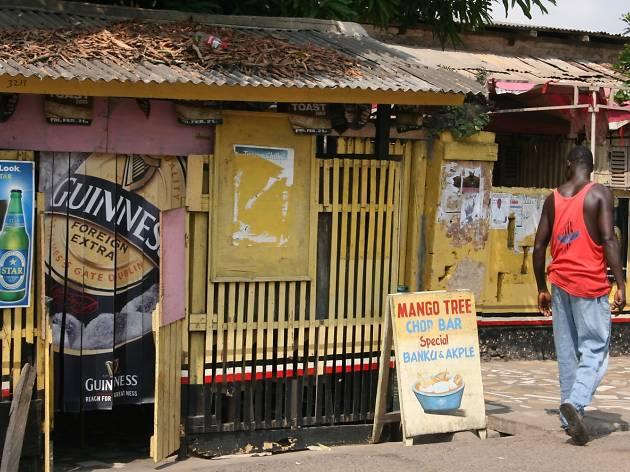 Jamestown street scene, Accra, Ghana