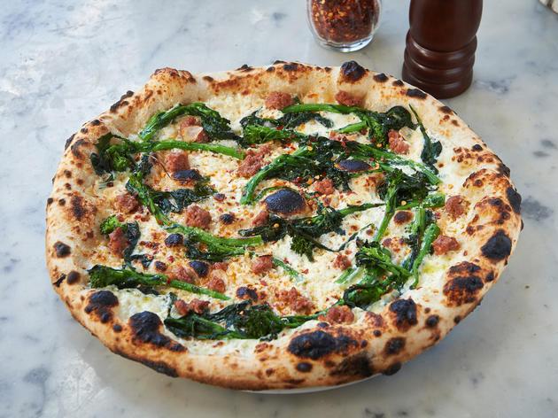 Pugliese pizza at Motorino