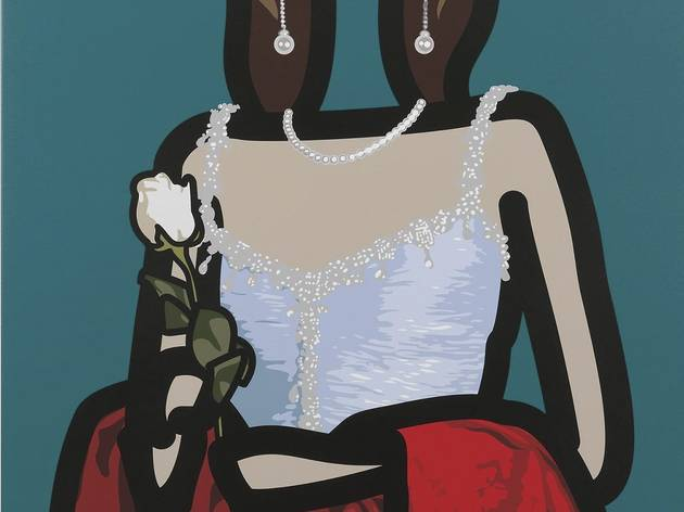 'Maria Teresa 1' (by Julian Opie)