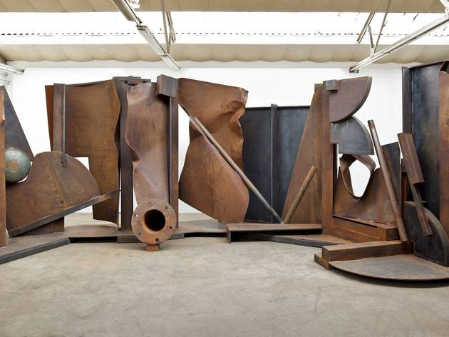 'Shadows' (by Anthony Caro)