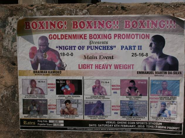 Fight night: boxing in Accra