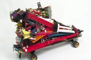 'Color Letter Racer Z' (by Rammellzee, © Estate of Carmela Zagari Rammellzee)