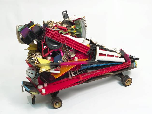 'Color Letter Racer Z' (by Rammellzee, © Estate of Carmela Zagari Rammellzee)