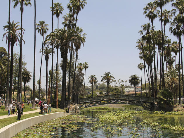 Hang out at Echo Park Lake