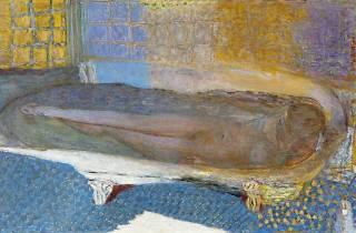 (Pierre Bonnard, 'Nu dans le bain' (huile sur toile), 1936 / Photo : © Eric Emo / Musée d'Art Moderne / Roger-Viollet)