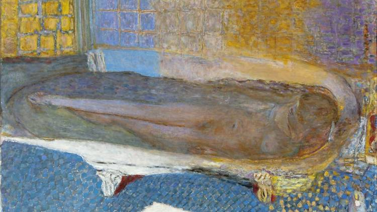Pierre Bonnard, 'Nu dans le bain' (huile sur toile), 1936 / Photo : © Eric Emo / Musée d'Art Moderne / Roger-Viollet