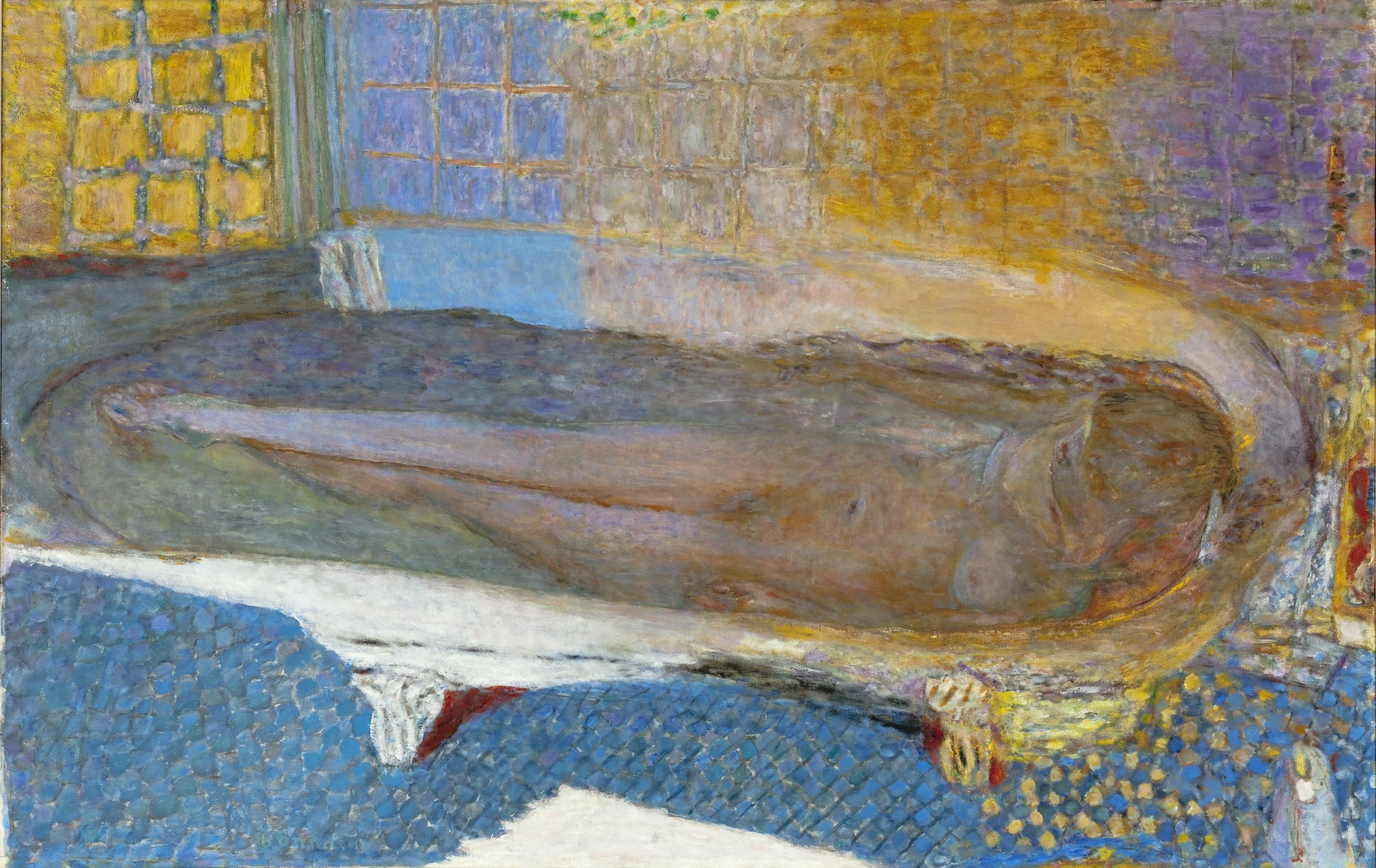 Mus e d 39 art moderne nu dans le bain pierre bonnard time out paris for Photo dans un bain