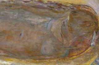 (Pierre Bonnard, 'Nu dans le bain' (détail), 1936 / Photo : © Eric Emo / Musée d'Art Moderne / Roger-Viollet)