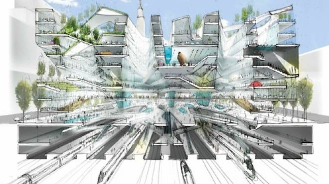 The Penn Station of the future?