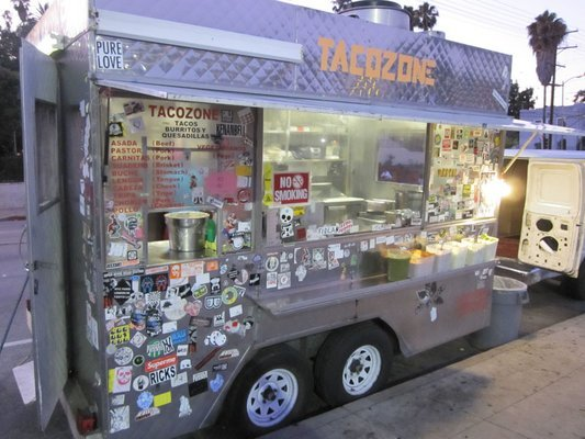 Weirdest location: Taco Zone Truck