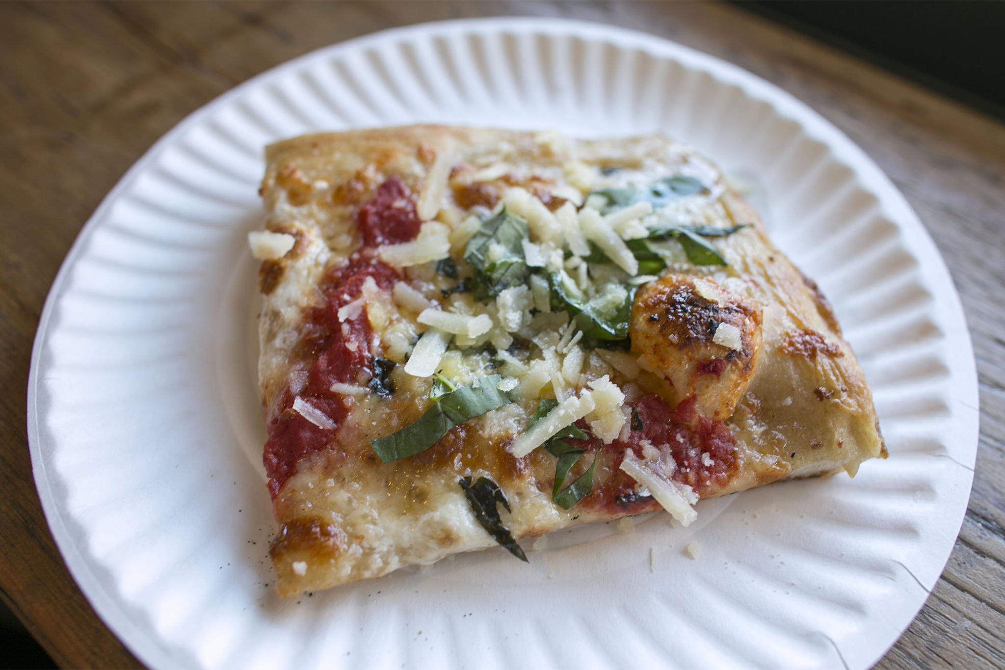 The new-school slice slinger: Williamsburg Pizza