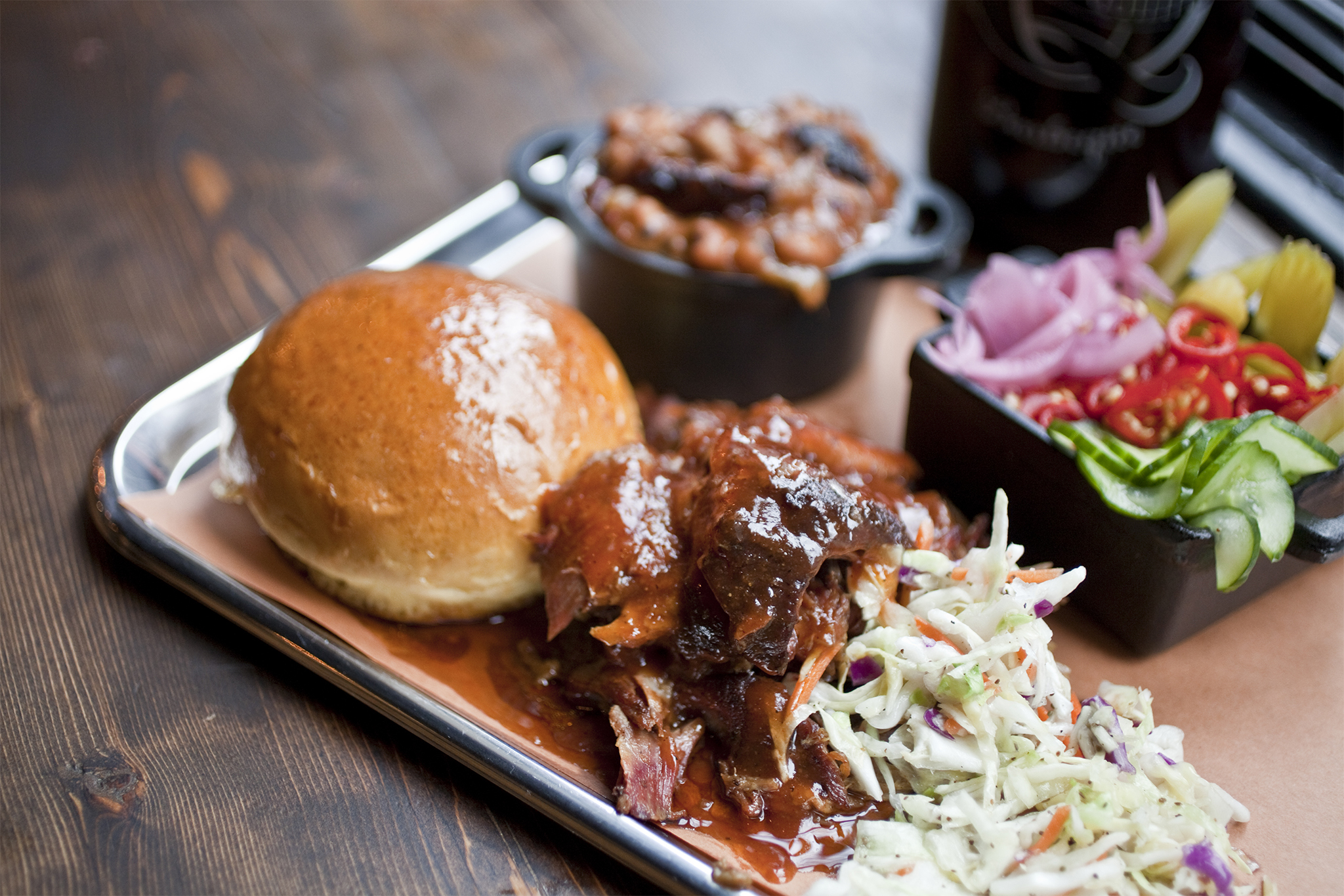 The budget barbecue king: Mighty Quinn's